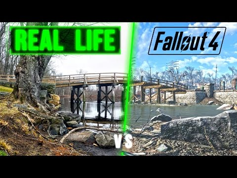 Fallout 4 Gameplay - Sanctuary IN REAL LIFE Settlement Location!