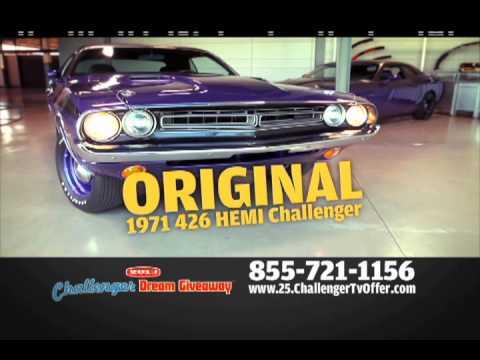 Challenger dream giveaway winner