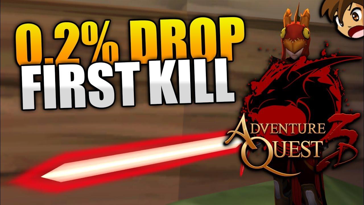 0 2% Armor Drop FIRST TRY!!! AQ3D AdventureQuest 3D