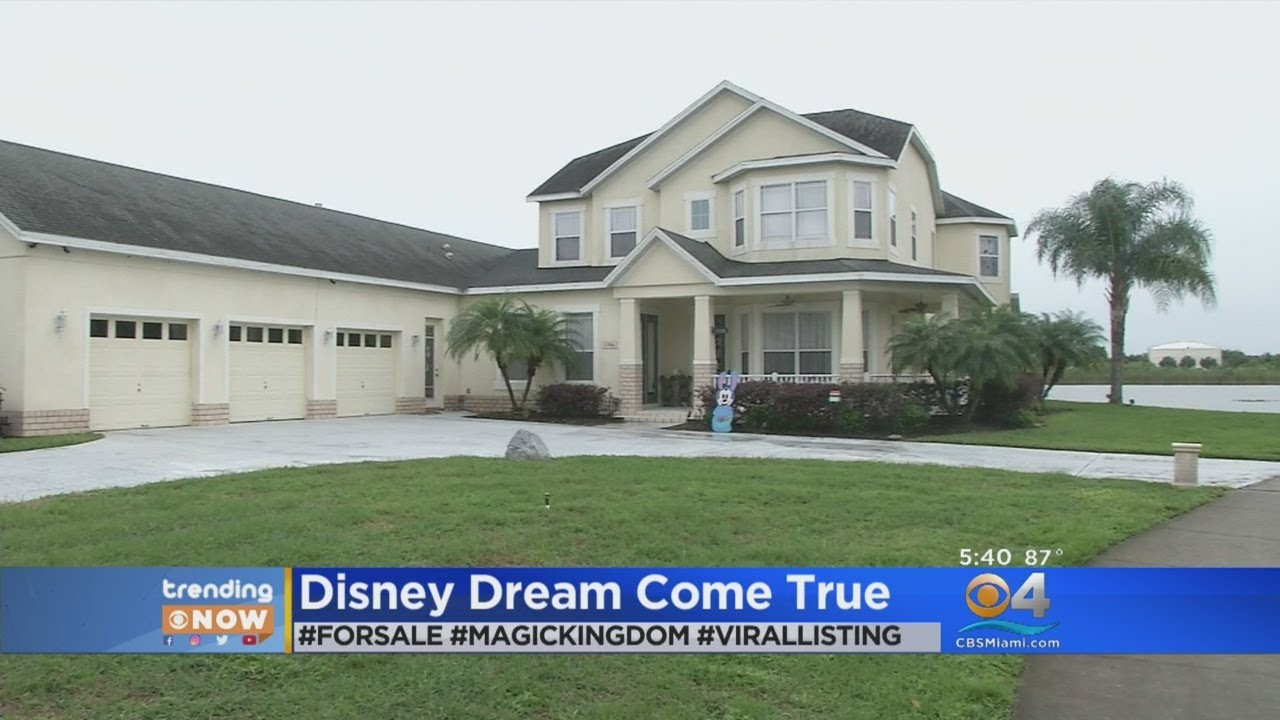 A Disney-themed House Is for Sale in Florida and It's As Magical As