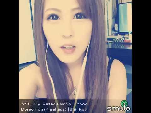 SMULE funny, orang jepang nyanyi doraemon versi indonesia
