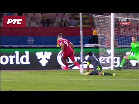 Fudbal: Srbija - Vels 1:1