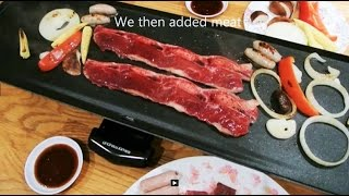 Electric Teppanyaki Barbecue Table Grill Xl By Andrew James [review & Demo] Korean Bbq