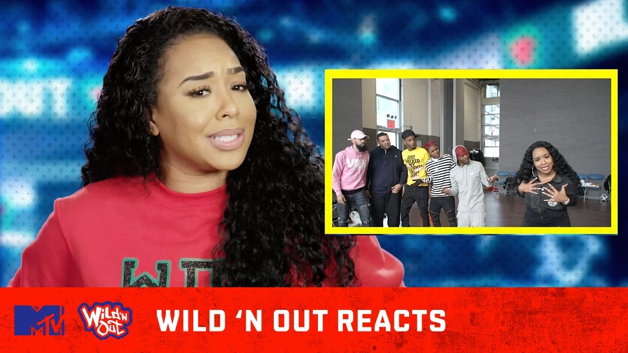 B. Simone's Audition Tape Makes Her Cringe 😂 | Wild 'N Out Reacts | MTV