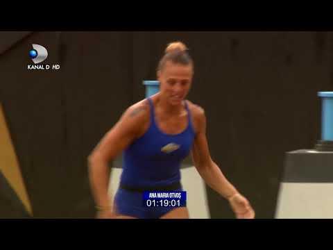 Exatlon Romania 21092018  Batalia pentru medalii la feminin! Cine este cea mai rapida fata?
