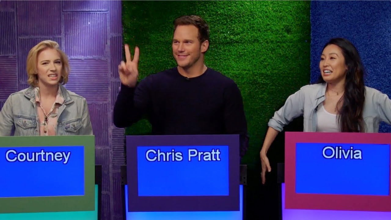 CHRIS PRATT is on our Game Show! image