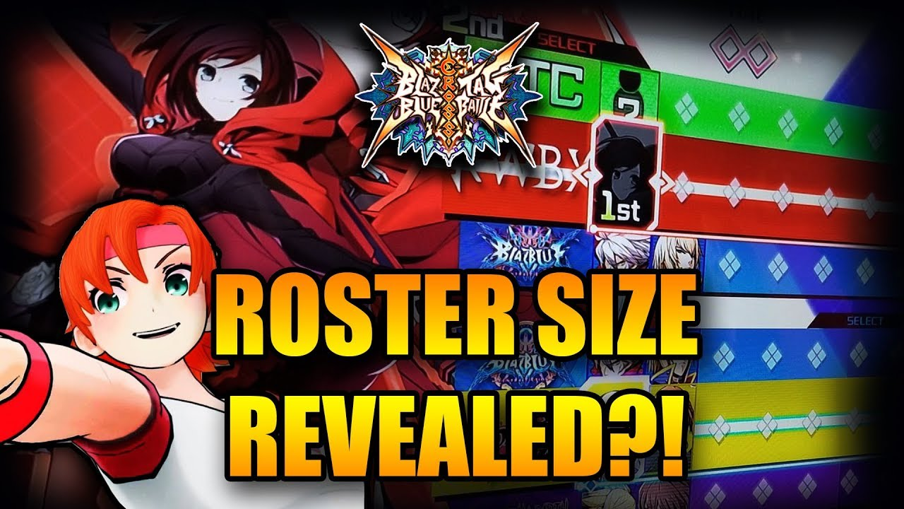 SEVEN CHARACTER SLOTS? - My Thoughts • BLAZBLUE CROSS TAG BATTLE •