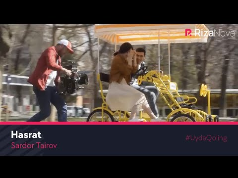 Sardor Tairov - Hasrat (klip jarayoni)