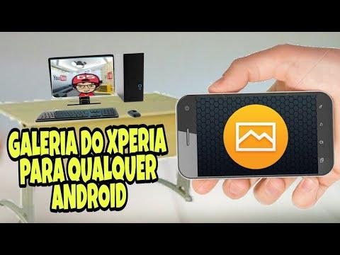 Como Baixar E Instalar Album (galeria) Do Xperia Em Qualquer Android
