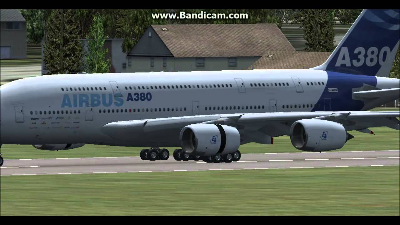 Airbus A380-800 for FSX [Package Download Link in Description]