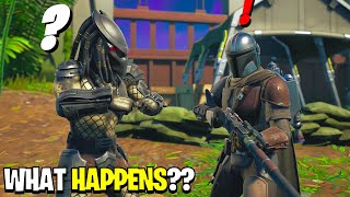 What Happens if Boss Predator Meets Mandalorian in Fortnite Season 5?! | Challenge!