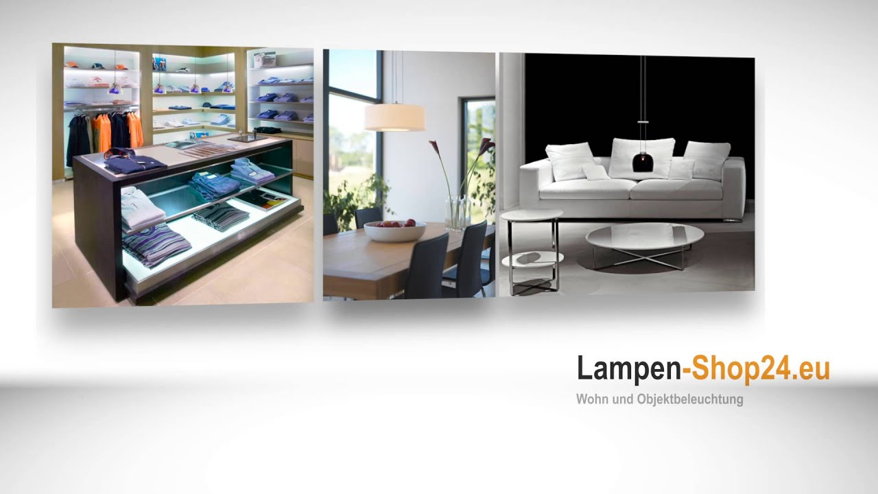 lampen shop 24 eu der online shop f r beleuchtungstechnik lumexx beleuchtung youtube. Black Bedroom Furniture Sets. Home Design Ideas
