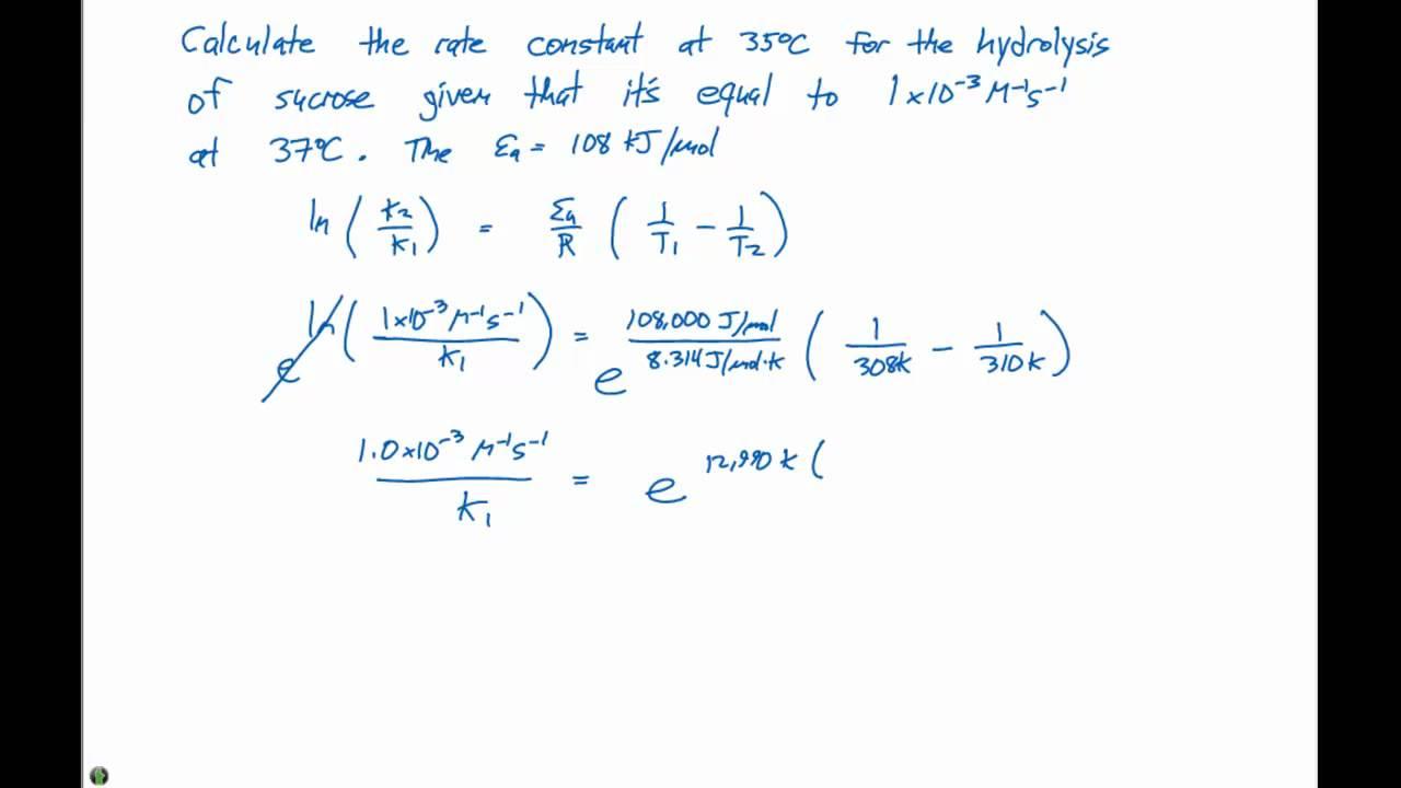 Arrhenius Equation Activation Energy | www.galleryhip.com - The ...