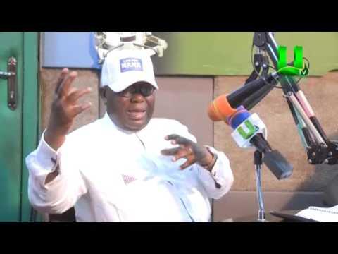 Kwami Sefa Kayi Interviews Nana Addo live on Peace FM ( Part 1)