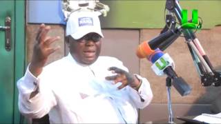 Kwami Sefa Kayi Interviews Nana Addo live on Peace FM ( Part 1)