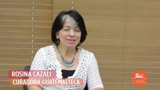 Centro León. Entrevista a Rosina Cazali