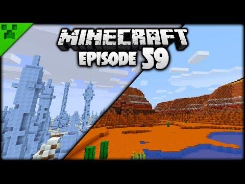 Exploring & DRUNK Minecraft Igloos!  Python's World Minecraft Survival Let's Play  Episode 59