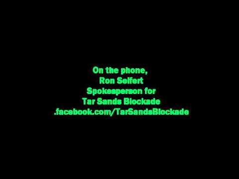 Tar Sands Blockade Winnie Action  Dec 3 2012