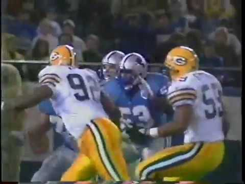 1993 WK 19 NFC Wildcard Green Bay Packers 9 7 @ Detroit Lions 10 6 }\}\