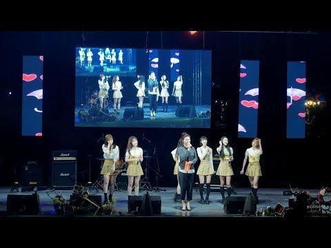 180421 오마이걸 (OH MY GIRL)  - Talk 2 (토크2) - 4K Fancam [직캠] [전체] by Sena @아하데이콘서트