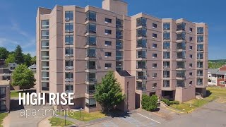 Living in a High Rise Apartment at Wesleyan University