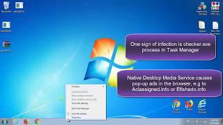 how to remove Native Desktop Media Service