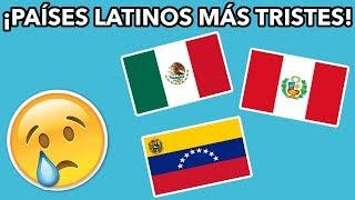 9 PAÍSES MÁS TRISTES DE AMÉRICA LATINA