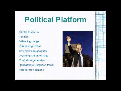Political Platform of François Hollande