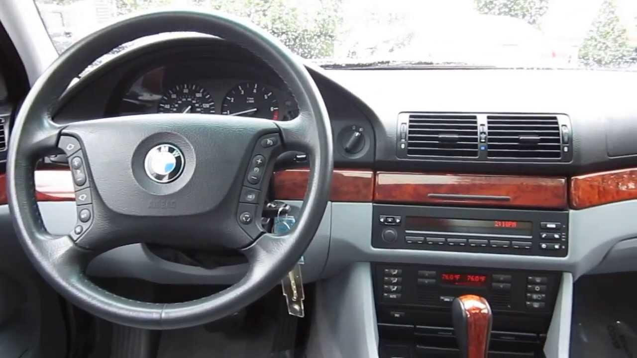 2002 BMW 530i, White   STOCK# 5175A   Interior