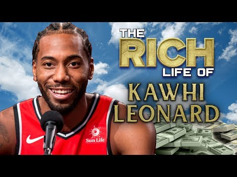 Kawhi Leonard  The Rich Life  Net Worth 2019 Forbes  Porsche California Mansion Salary & more