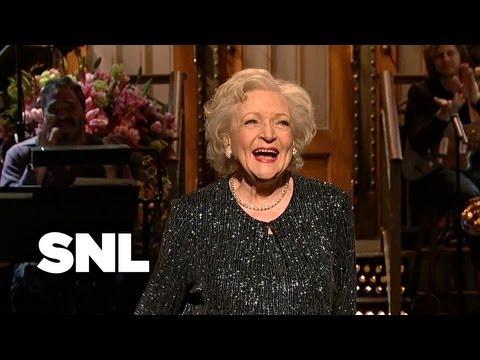 Betty White Monologue: Facebook - Saturday Night Live