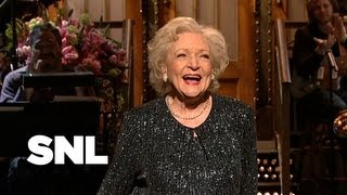 Betty White Monologue: Facebook - Saturday Night Live