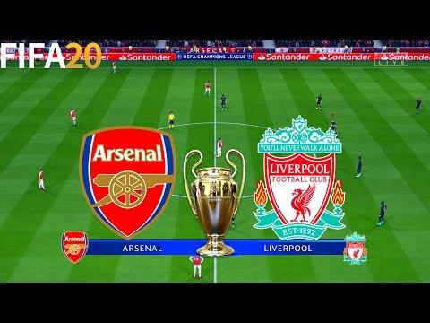 FIFA 20   Arsenal vs Liverpool - UEFA Champions League - Full Match & Gameplay