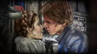Han & Leia Speed drawing - Natasha Hardings Art
