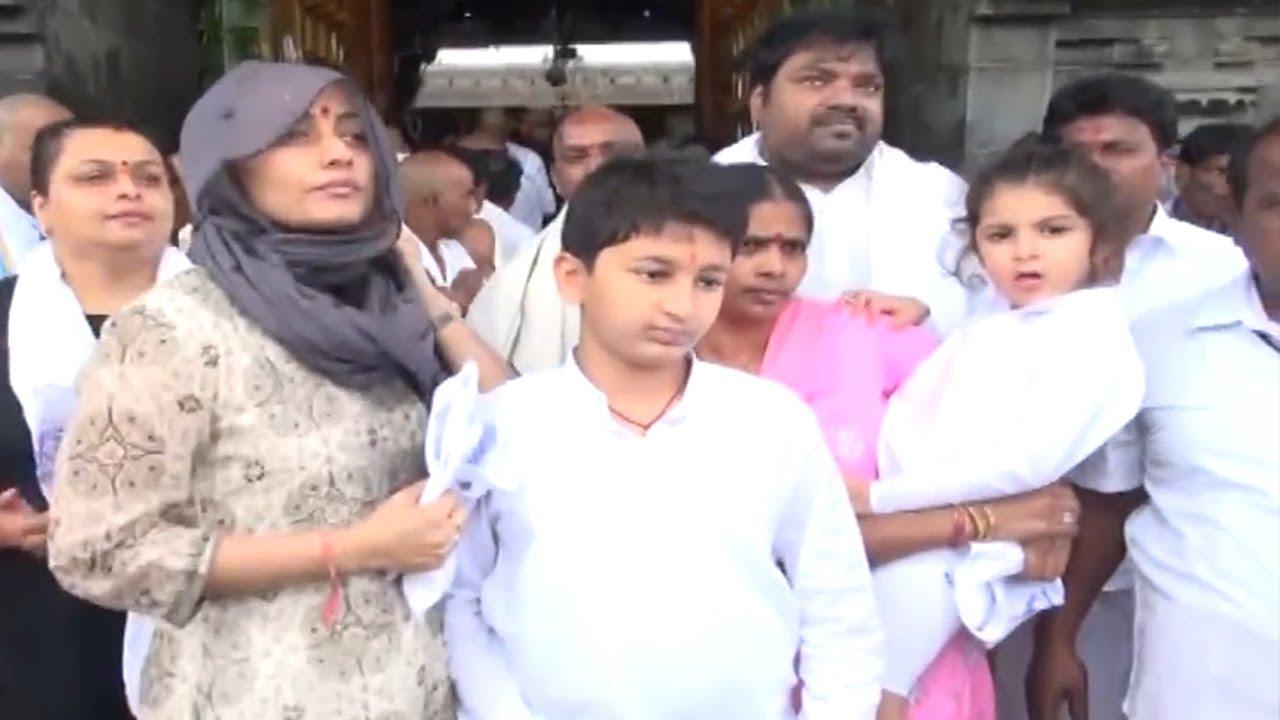 Mahesh Babu Family Visits Tirumala Tfpc Tfpc » | Telugu