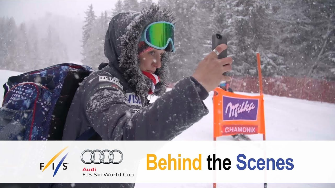 The varied and exciting job of team press attach�s - fis alpine