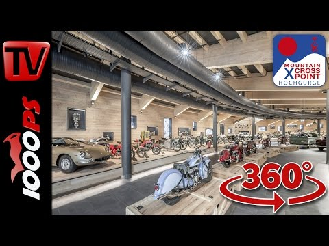 Top Mountain Crosspoint - 360° Rundgang durch das Motorradmuseum Foto