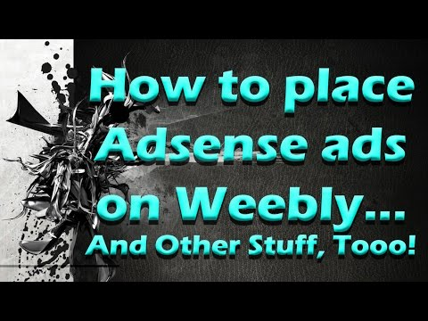 How To Monetize A Weebly Website, Blog, YouTube Channel, Or Whatever