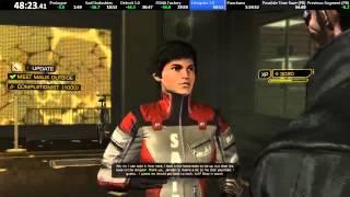 Deus Ex: Human Revolution All-Missions speedrun in 1:31:39 [WR]