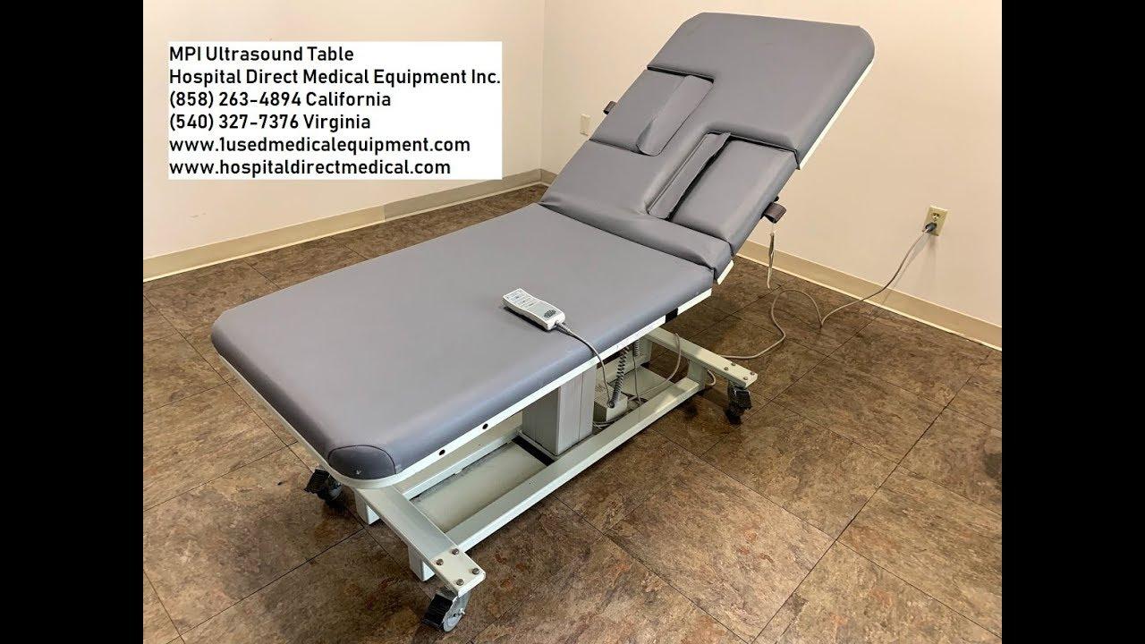 MPI Echo Ultrasound Table