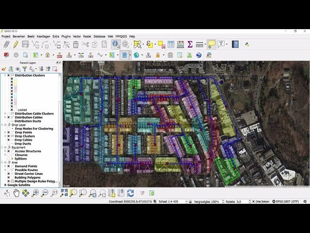 Fttx Network Design With Fiberplanit Designer Product Demo Youtube