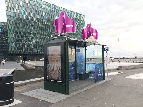 IceWind's Storm Shelter in Reykjavik | JCDecaux Iceland