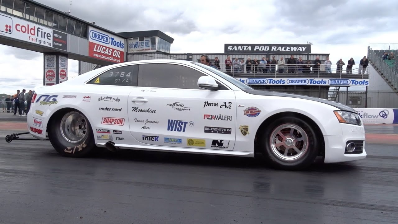 Worlds Quickest Audi A5 - 1240+ whp - 7.35 @ 184mph - YouTube