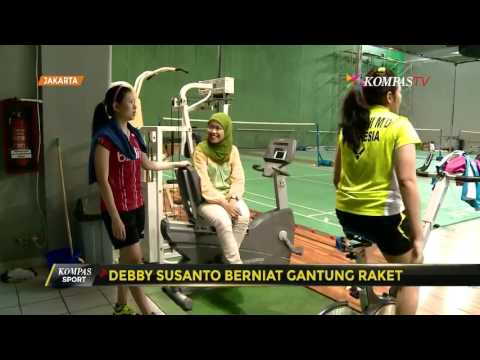 Debby Susanto Berniat Gantung Raket