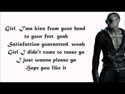 Keri Hilson - One Night Stand (feat. Chris Brown) Lyrics Video