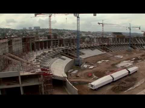 National Geographic Megastructures - Build up to the Cup: Stadiums (Act 1)