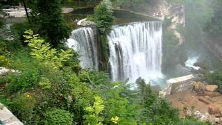 Bosnia - Jajce Waterfall [HD]