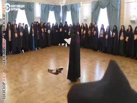 Ведьмы в центре Москвы провели шабаш в поддержку Путина