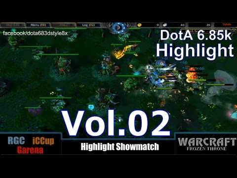 Dota 1 Highlight Showmatch 6.85k RGC (Asia Public) Vol.02