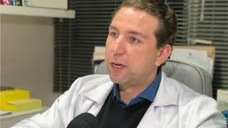 Colesterol em diferentes idades - #drpalmiros - Jornal da Record - Dr Lucas Palmiro
